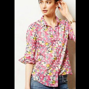 Anthropologie | Holding Horses Isla Floral Shirt